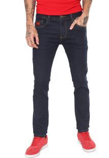 Calça Jeans Coca-Cola Jeans Skinny Fit Azul