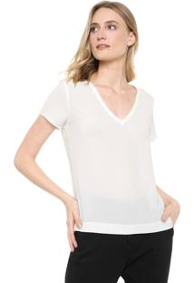 Blusa Ana Hickmann Bubble Off-White