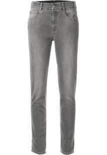 Stella Mccartney Calça Jeans The Skinny Boyfriend - Cinza