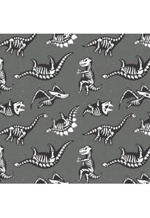 Papel De Parede Stickdecor Adesivo Infantil Dinossauros Preto E Branco