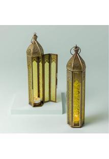 Luminária Aube Cor: Ouro - Tamanho: Único