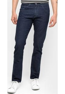 Calça Jeans Preston Tradicional Escura - Masculino