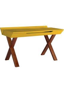 Escrivaninha Studio Cacau Amarelo