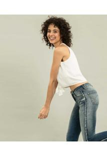 Calça Cropped Bali Duo Core Jeans - Lez A Lez