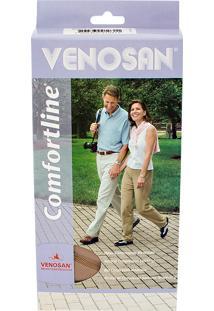 Meia Calça Venosan Confortline 20-30 Mmhg M (Tamanho Médio) Longo, Cor Bege, Ponteira Aberta