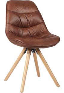 Cadeira Luci Marrom Envelhecido Rivatti Móveis
