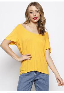 Camiseta Lisa - Amarela - Forumforum