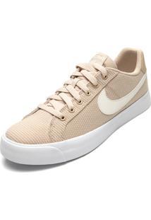 Tênis Nike Sportswear Court Royale Ac Se Nude