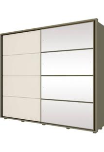Guarda-Roupa 2 Portas Henn Cavic D209-108 Duna/Off White Se