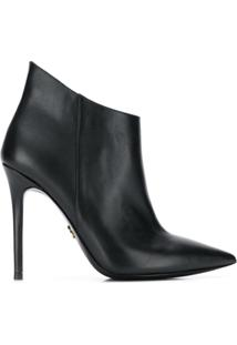 Michael Michael Kors Ankle Boot Antonia - Preto