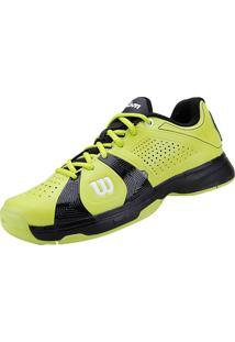 Tênis Rush Sport Masculino Verde/Preto 43 Wilson