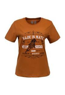 Tshirt Estampada Made In Mato Woman´S Rodeo Curry Multicolorido