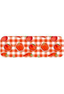 Passadeira Wevans Tomates Vermelho - Kanui