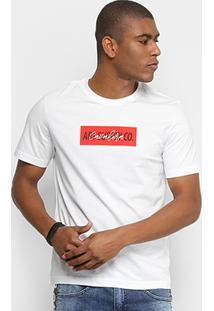 Camiseta Cavalera Art Supply Co. Masculina - Masculino-Branco