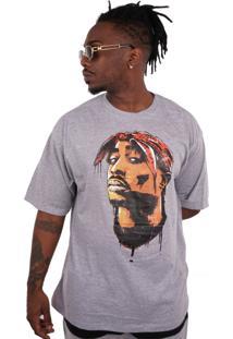 Camiseta Wanted Ind West Coast Cinza