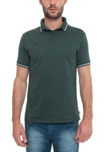 Camisa Polo Manga Curta Yb