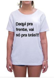 Camiseta Impermanence Estampada Carnavral Feminina - Feminino-Branco