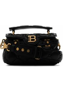 Balmain B-Buzz 19 Shoulder Bag - Preto