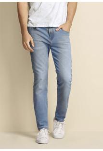Calça Masculina Skinny Em Moletom Jeans De Algodão