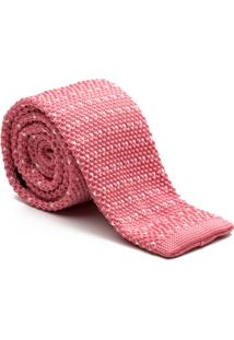 Gravata Key Design - Tricot Point Pink - Masculino