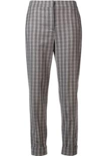 Lorena Antoniazzi Patterned Trousers - Cinza