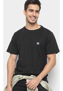Camiseta Dc Shoes Slim Basic Logo Masculina - Masculino