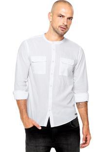 Camisa Colcci Bolsos Branca