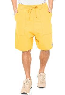 Bermuda Osklen Bolsos Amarela