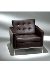 Poltrona Fk1 Estrutura Aço Inox Studio Mais Design By Florence Knoll