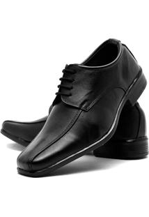 Sapato Social Masculino De Amarrar Em Couro Fox Shoes - Masculino