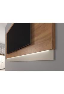 Painel Para Tv Até 72 Polegada Vivante Líder Design Caemmun Buriti/Off White