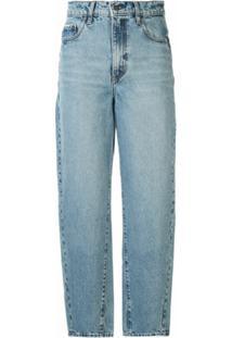 Nobody Denim Calça Jeans Reta Porter - Azul