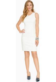 Vestido De Alfaiataria Off White
