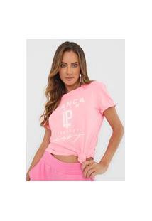 Camiseta Lança Perfume Color Neon Rosa