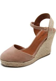 a2b53d07e R$ 89,99. Dafiti Sandália Espadrille Marrom Dafiti Shoes