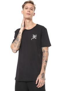 Camiseta Ed Hardy Flaming Skull Preta