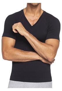 Camiseta Manga Curta Modeladora Lupo (70672-001) Compressão