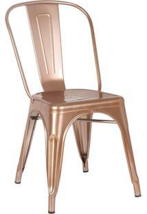 Cadeira Iron Cobre Rivatti Móveis