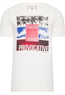 Camiseta Masculina Are Provocative - Off White
