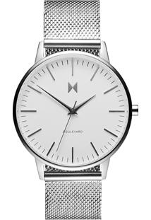 Relógio Mvmt Feminino Aço - D-Mb01-S