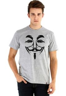 Camiseta Ouroboros Manga Curta Anonymous Masculina - Masculino