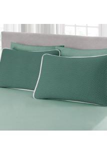 Jogo De Cama Queen Size 3 Peã§As Premium Ciranda Verde Ref 70.72.0003/7125 - Estampado - Dafiti