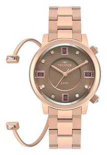Relógio Technos Rocks Feminino Rosé 2039Bv/K4M 2039Bv/K4M
