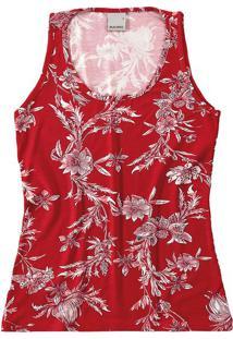 Blusa Estampada Floral Malwee