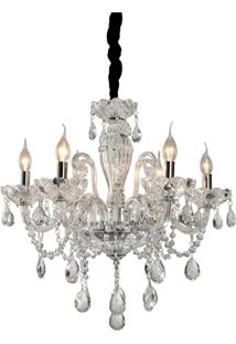 Lustre Lamp Show Ely Transparente - Kanui