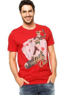 Camiseta Fashion Comics Justice Vermelha