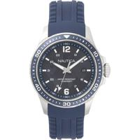 e26c6b6b0a3 Relógio Nautica Masculino Borracha Azul - Napfrb002 Vivara