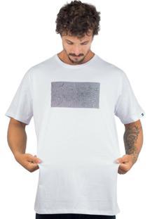 Camiseta Alfa Optical - Masculino-Branco