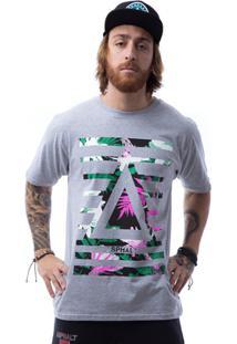 Camiseta Asphalt Oasis Delta Bars Masculina - Masculino