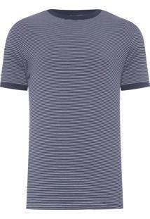 Camiseta Masculina Listra - Azul Marinho